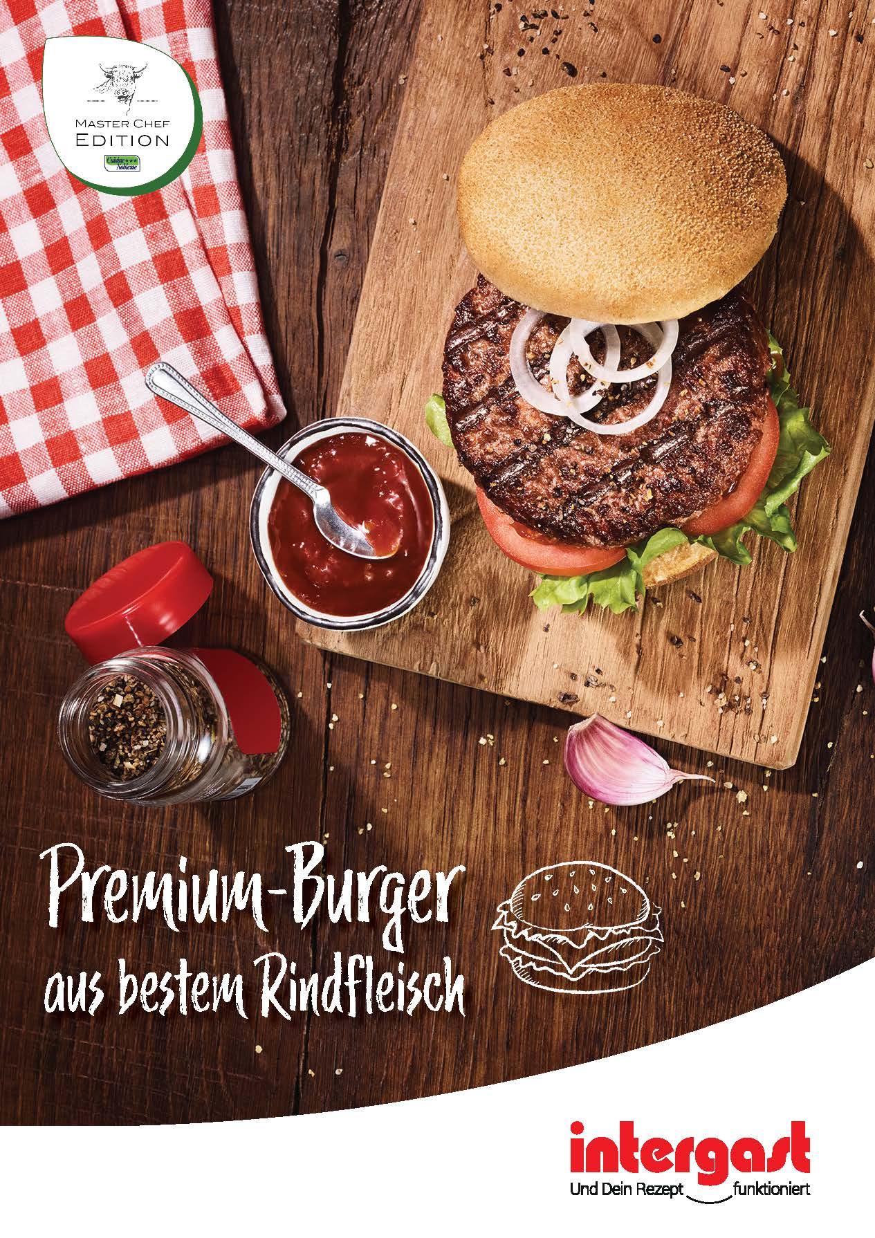 Master Chef Edition Burger